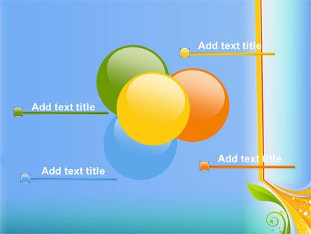 Growing Leaf Motif PowerPoint Template Slide 10