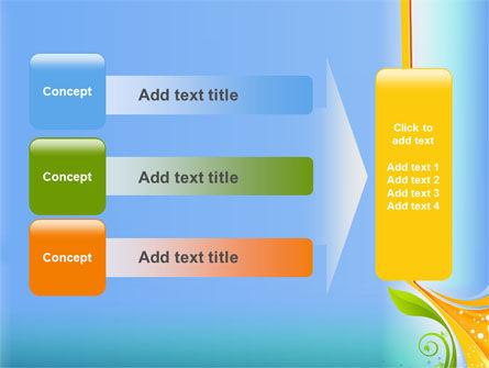 Growing Leaf Motif PowerPoint Template Slide 12