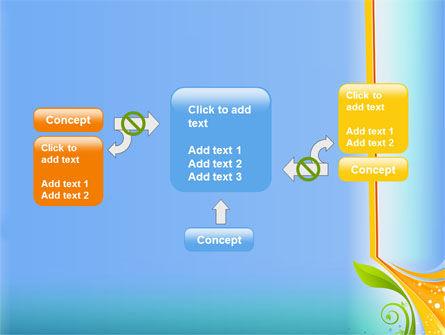 Growing Leaf Motif PowerPoint Template Slide 13