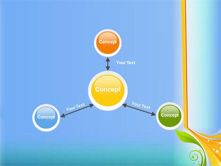 Growing Leaf Motif PowerPoint Template Slide 14