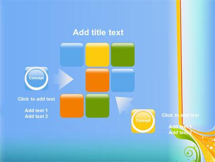 Growing Leaf Motif PowerPoint Template Slide 16