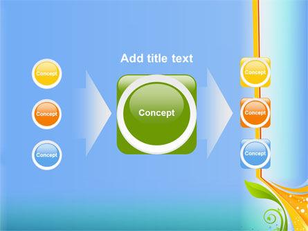 Growing Leaf Motif PowerPoint Template Slide 17
