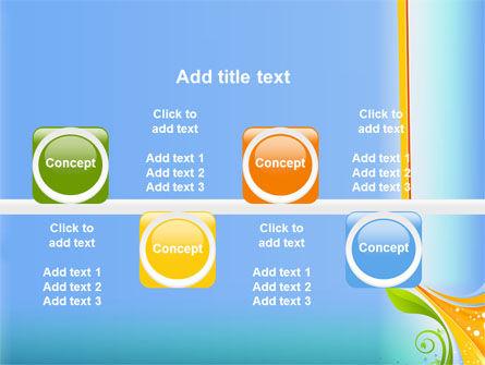 Growing Leaf Motif PowerPoint Template Slide 19