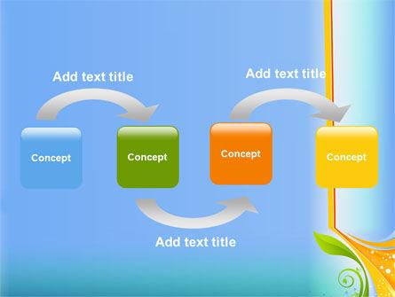 Growing Leaf Motif PowerPoint Template Slide 4