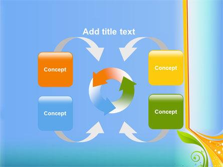 Growing Leaf Motif PowerPoint Template Slide 6