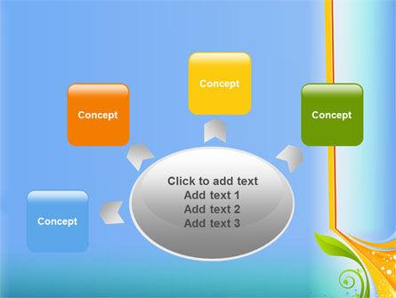 Growing Leaf Motif PowerPoint Template Slide 7