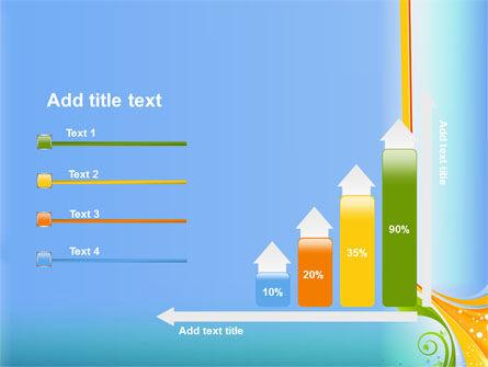 Growing Leaf Motif PowerPoint Template Slide 8