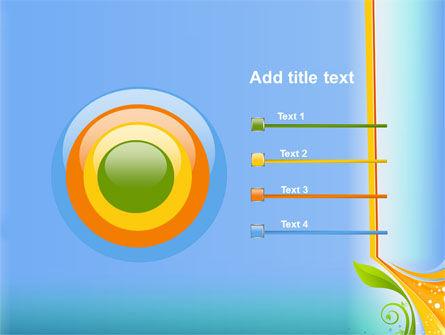 Growing Leaf Motif PowerPoint Template Slide 9