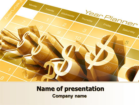 Financial/Accounting: Investment Plan PowerPoint Template #07841