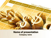 Financial/Accounting: Investeringsplan PowerPoint Template #07841
