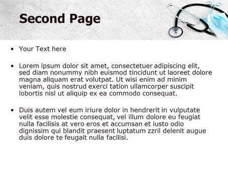 Forceps PowerPoint Template, Slide 2, 07842, Medical — PoweredTemplate.com