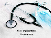 Medical: Forceps PowerPoint Template #07842
