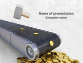 Financial/Accounting: Money Production PowerPoint Template #07843