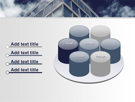 Concrete and Glass PowerPoint Template Slide 12