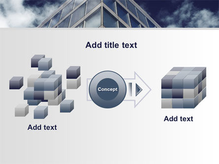 Concrete and Glass PowerPoint Template Slide 17