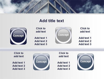 Concrete and Glass PowerPoint Template Slide 18
