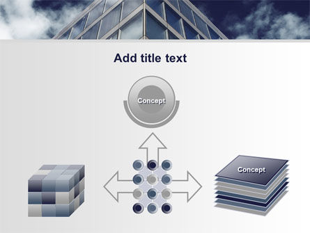 Concrete and Glass PowerPoint Template Slide 19