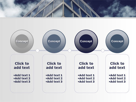 Concrete and Glass PowerPoint Template Slide 5