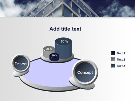 Concrete and Glass PowerPoint Template Slide 6
