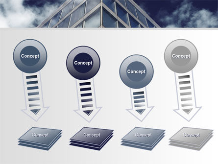 Concrete and Glass PowerPoint Template Slide 8