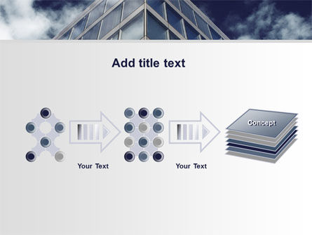 Concrete and Glass PowerPoint Template Slide 9