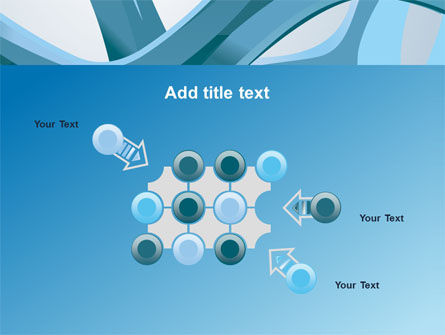 Abstract Threads PowerPoint Template Slide 10