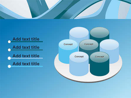Abstract Threads PowerPoint Template Slide 12