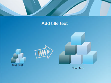 Abstract Threads PowerPoint Template Slide 13