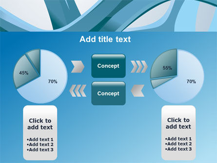 Abstract Threads PowerPoint Template Slide 16