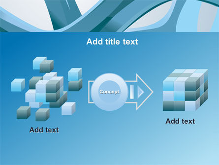 Abstract Threads PowerPoint Template Slide 17