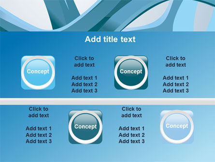 Abstract Threads PowerPoint Template Slide 18