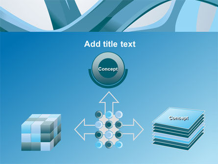 Abstract Threads PowerPoint Template Slide 19