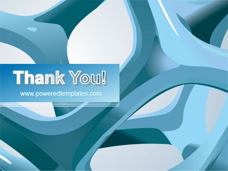 Abstract Threads PowerPoint Template Slide 20