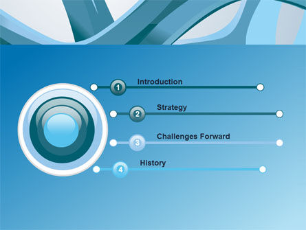 Abstract Threads PowerPoint Template Slide 3
