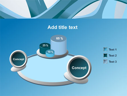 Abstract Threads PowerPoint Template Slide 6