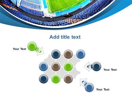 Stadium At Night PowerPoint Template Slide 10