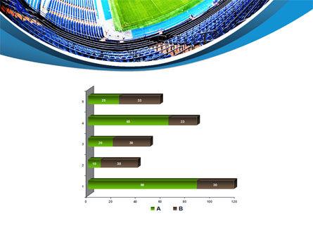 Stadium At Night PowerPoint Template Slide 11