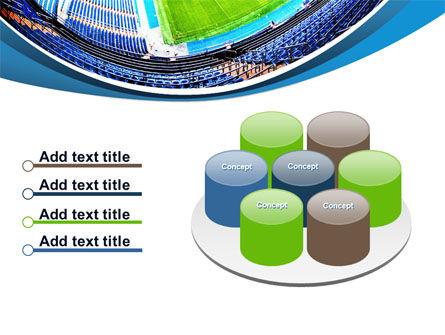 Stadium At Night PowerPoint Template Slide 12