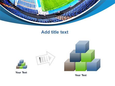 Stadium At Night PowerPoint Template Slide 13