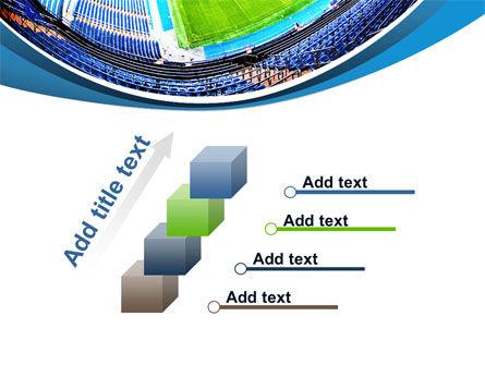 Stadium At Night PowerPoint Template Slide 14