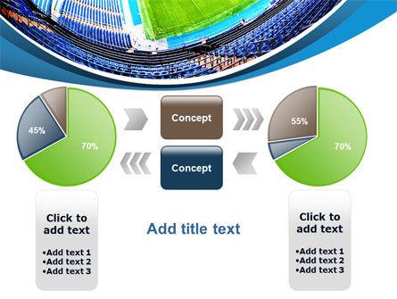 Stadium At Night PowerPoint Template Slide 16