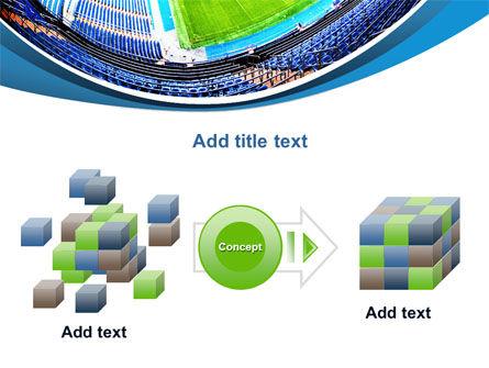 Stadium At Night PowerPoint Template Slide 17
