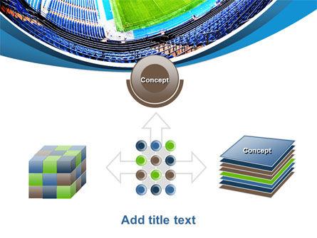 Stadium At Night PowerPoint Template Slide 19