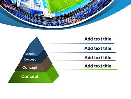 Stadium At Night PowerPoint Template, Slide 4, 07846, Careers/Industry — PoweredTemplate.com