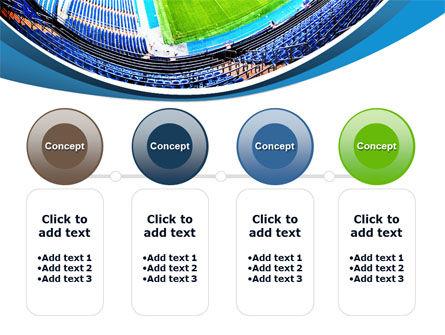 Stadium At Night PowerPoint Template Slide 5