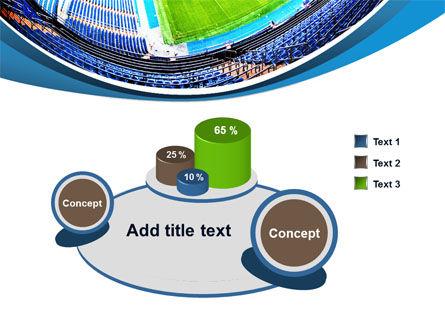 Stadium At Night PowerPoint Template Slide 6