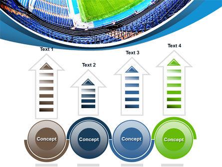 Stadium At Night PowerPoint Template Slide 7