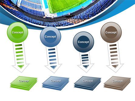 Stadium At Night PowerPoint Template Slide 8