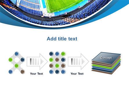 Stadium At Night PowerPoint Template Slide 9