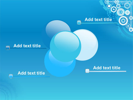 Pinion Blue Theme PowerPoint Template Slide 10